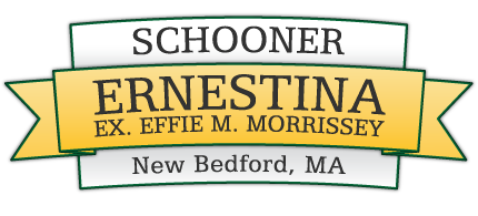 Schooner Ernestina, EX Effie M. Morrissey New Bedford MA