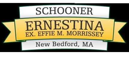Schooner Ernestina, EX Effie M. Morrissey New Bedford MA